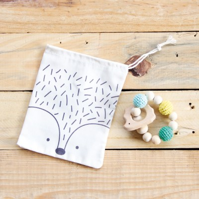 Wooden baby teethers