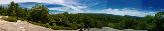 Bradbury Mountain Panorama