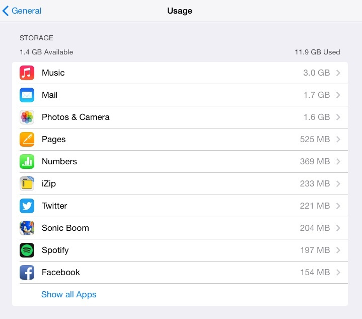 Need More Storage? Tips for Spring Cleaning Your iOS Device