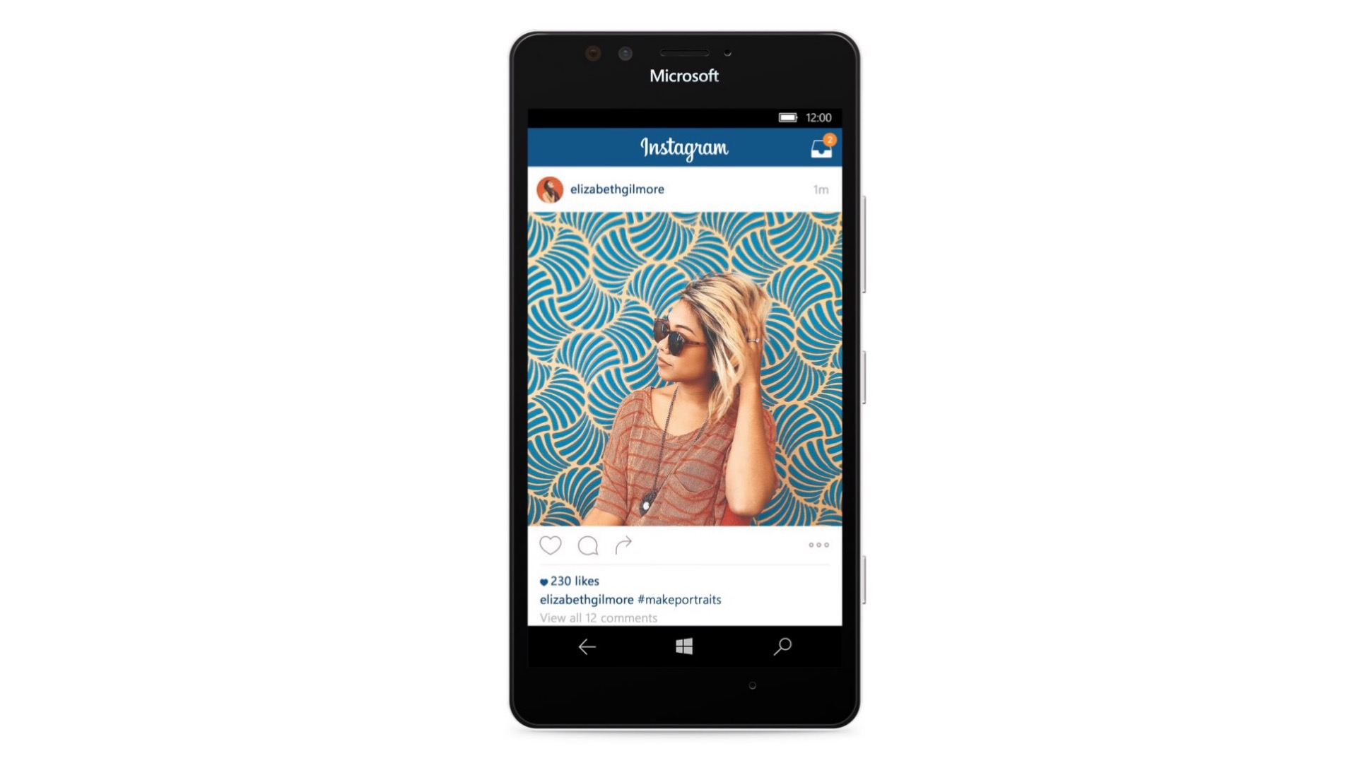 mobile instagram