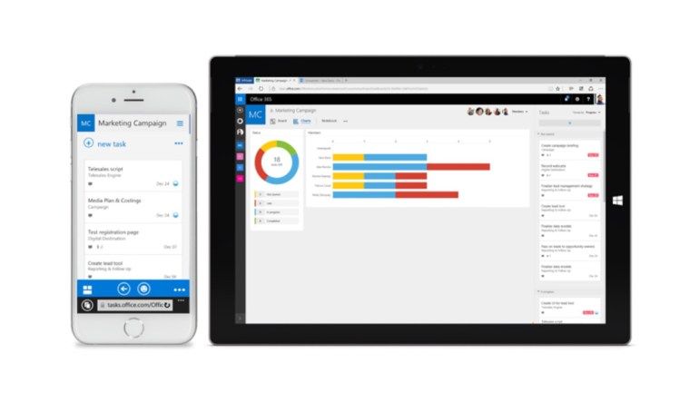 Microsoft rolling out planner app for office 365 users for Tile planner app