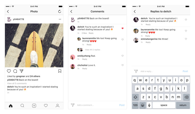 Instagram Comments Get Threaded for Easier Communication