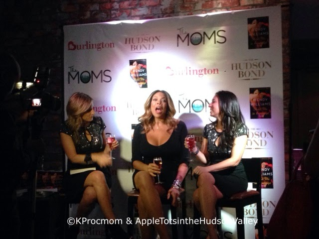 Wendy WIlliams, Mamarazzi by @The Moms and @Burlington