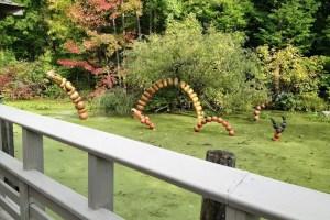 New York Botanical Gardens Haunted Pumpkin Garden Review #nybg @nybg