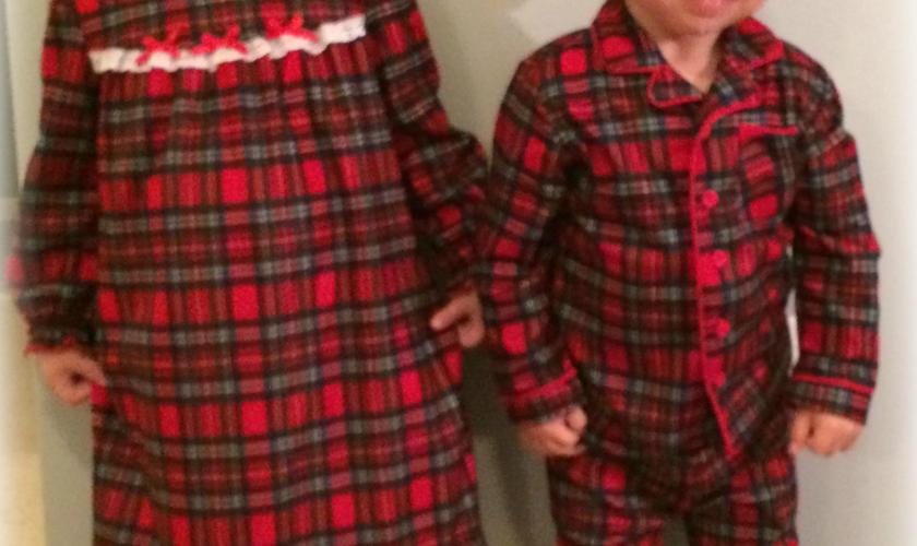 Holiday Pajamas by Little Me Review