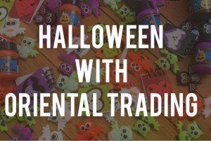 Halloween Treats from Oriental Trading
