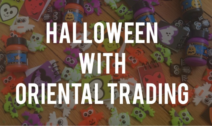 Halloween Treats from Oriental Trading