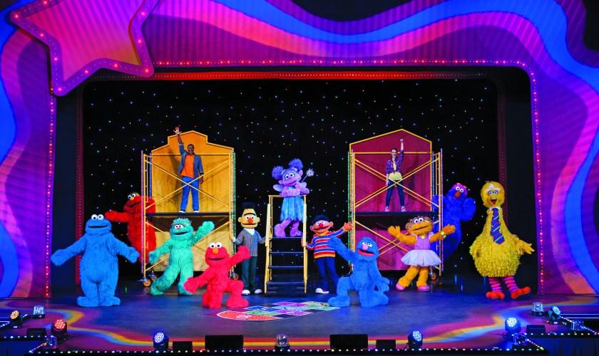 "Sesame Street Live ""Let's Dance"""