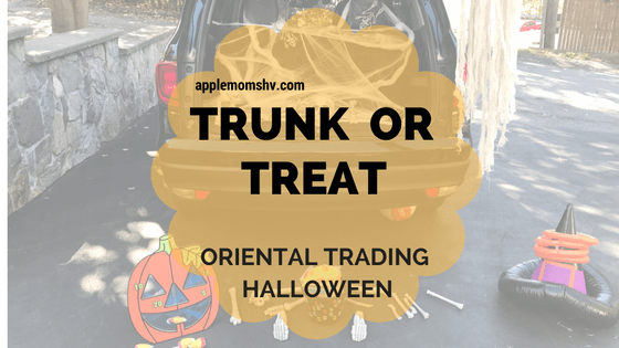 Halloween Trunk or Treat with Oriental Trading