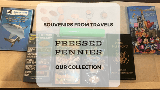 Travel Pressed Penny Collections for Kids