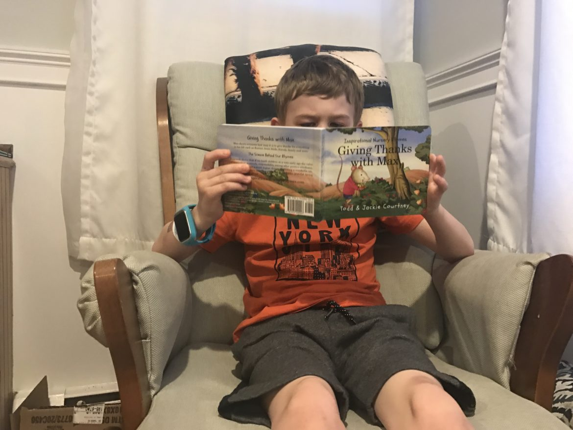 Sunday Stories: Giving Thanks with Max Book Recap