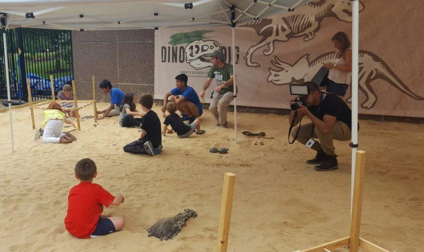 Jack Horner's Dino Dig – Liberty Science Center #LSCDinoDig