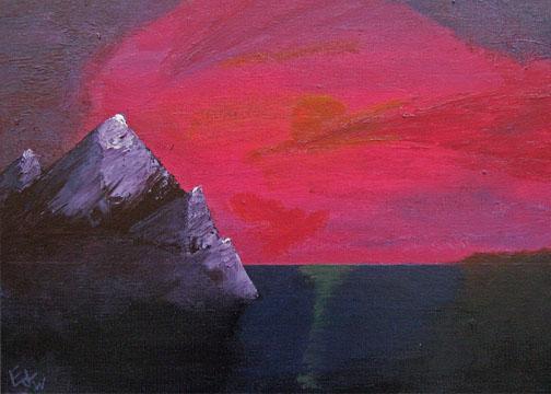 """""""Mountain Scene"""" - Devin P.L. Edwards"""