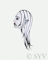 """Weregirl"" - Sarah Y. Varnam"