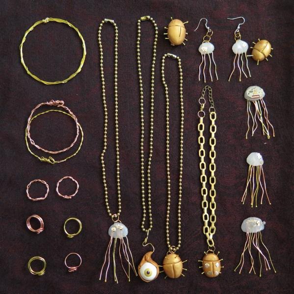 New Steampunk-y Jewelry