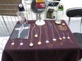 Sarah's jewelry at Wychwood Barns