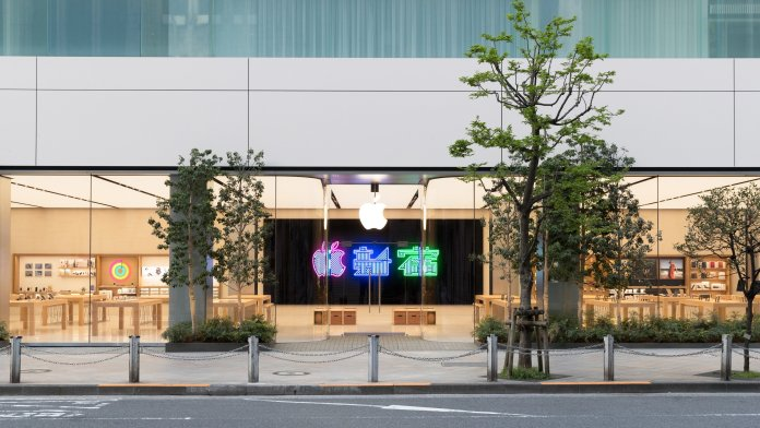 Apple opens new retail store in Tokyo's Shinjuku  District this Saturday