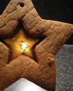 Stained glass biscuits
