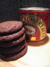 Chocolate and treacle biscuits