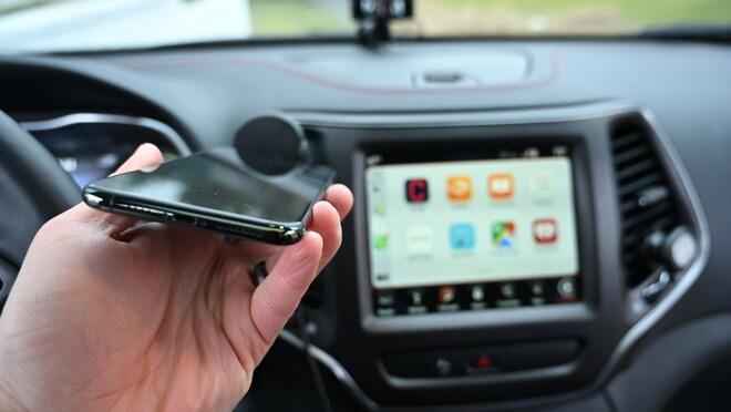 Использование CarPlay Wireless