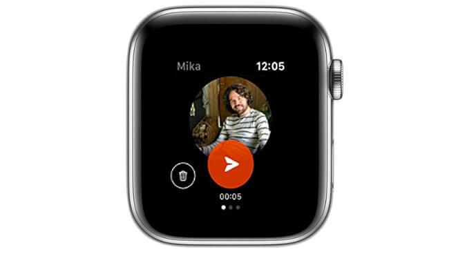 Facebook выпускает новое приложение для обмена сообщениями с друзьями через Apple Watch