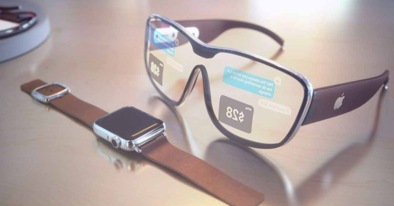 AssistiveTouch на Apple Watch для управления очками Apple
