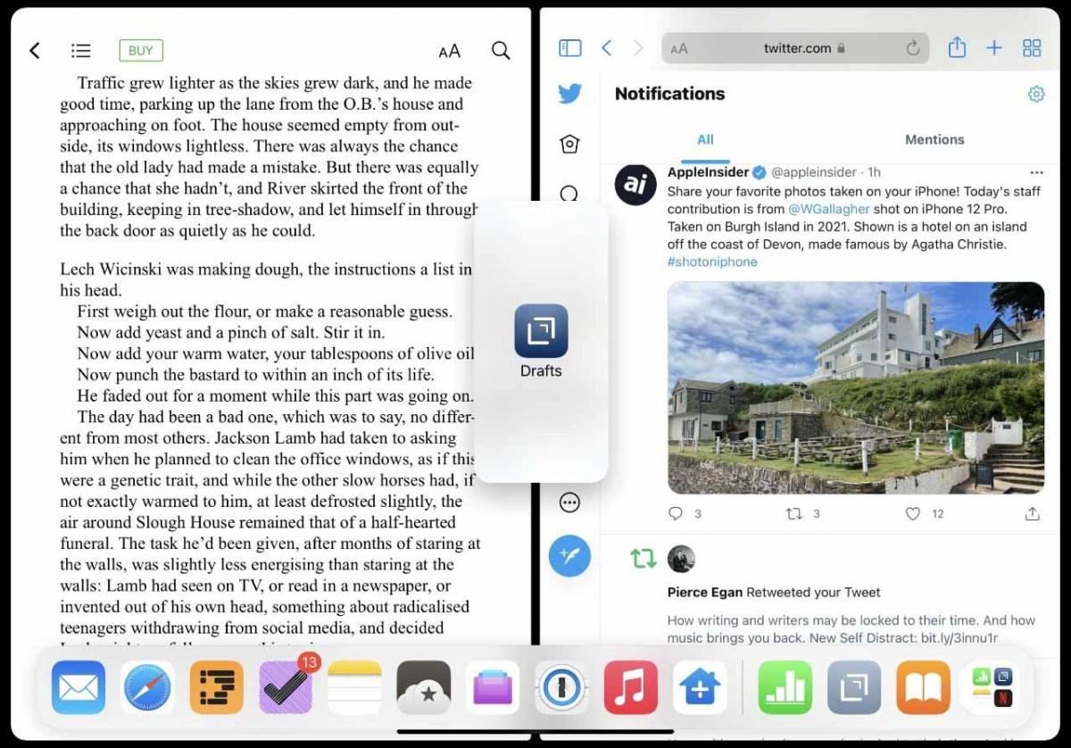 Для этого нет контроля, но вы можете перетащить третье приложение на экран, чтобы создать новое Slide Over.