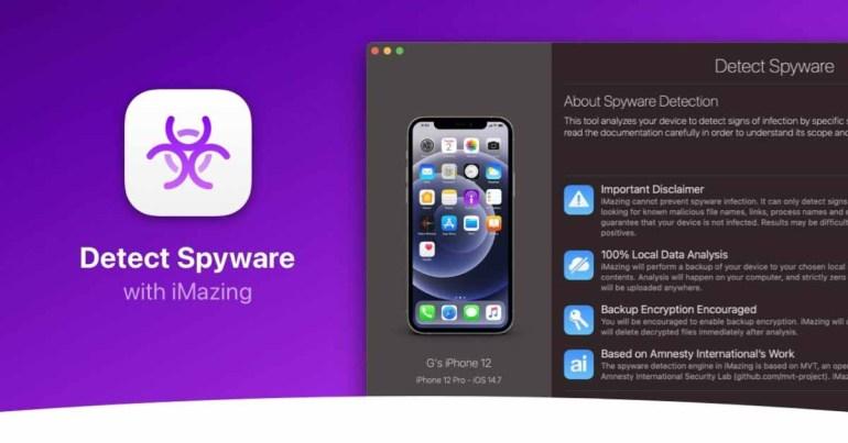 Приложение iMazing теперь может обнаруживать шпионское ПО Pegasus на iPhone