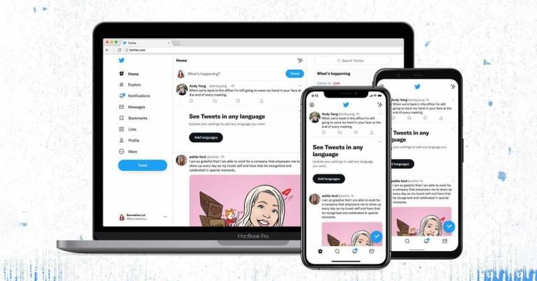 Twitter выпускает обновления дизайна, включая новый шрифт, изменение цвета и многое другое.
