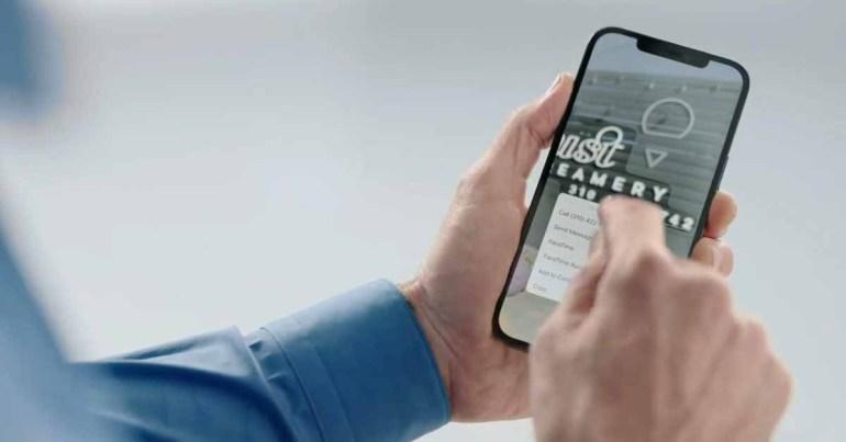 Как использовать новый iPhone Live Text OCR в iOS 15