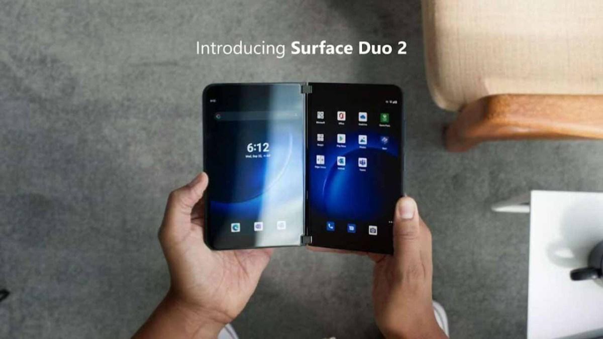 У Surface Duo 2 новый шарнир