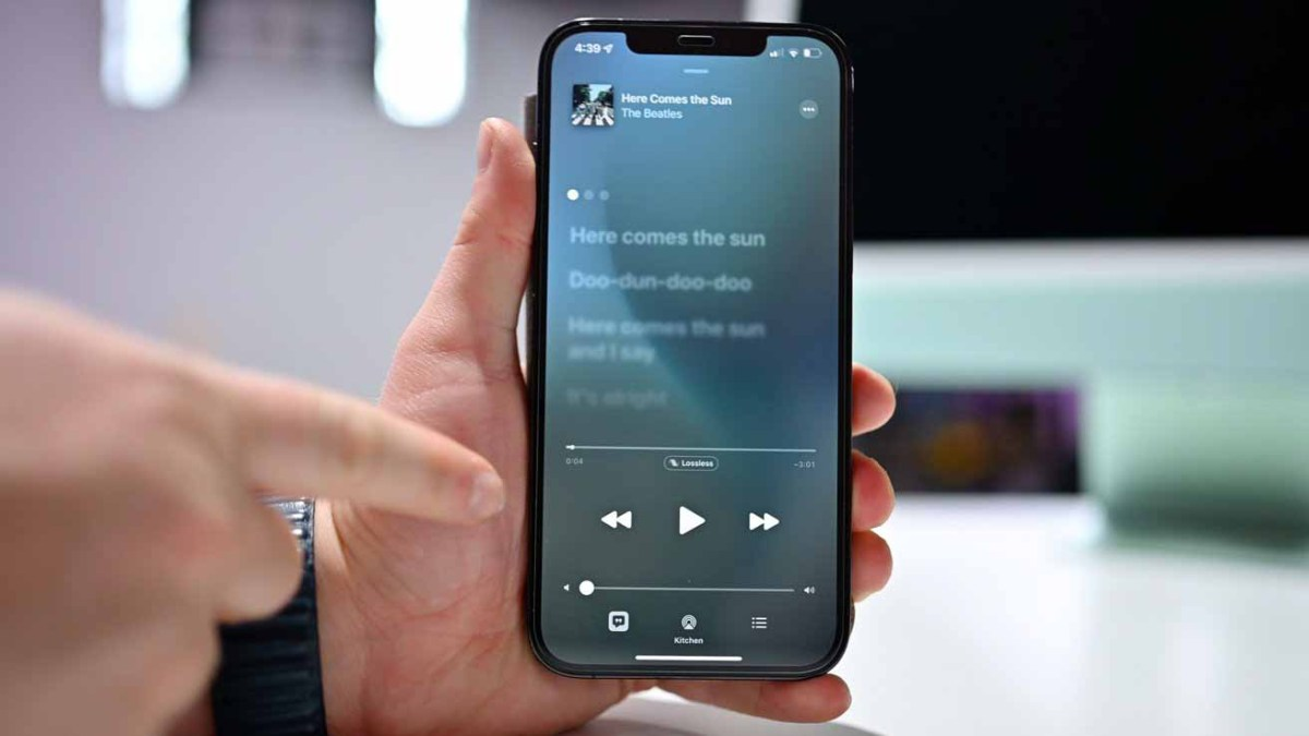 Прослушивание аудио без потерь на HomePod