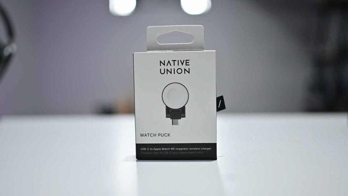 Коробка для шайб Native Union Watch