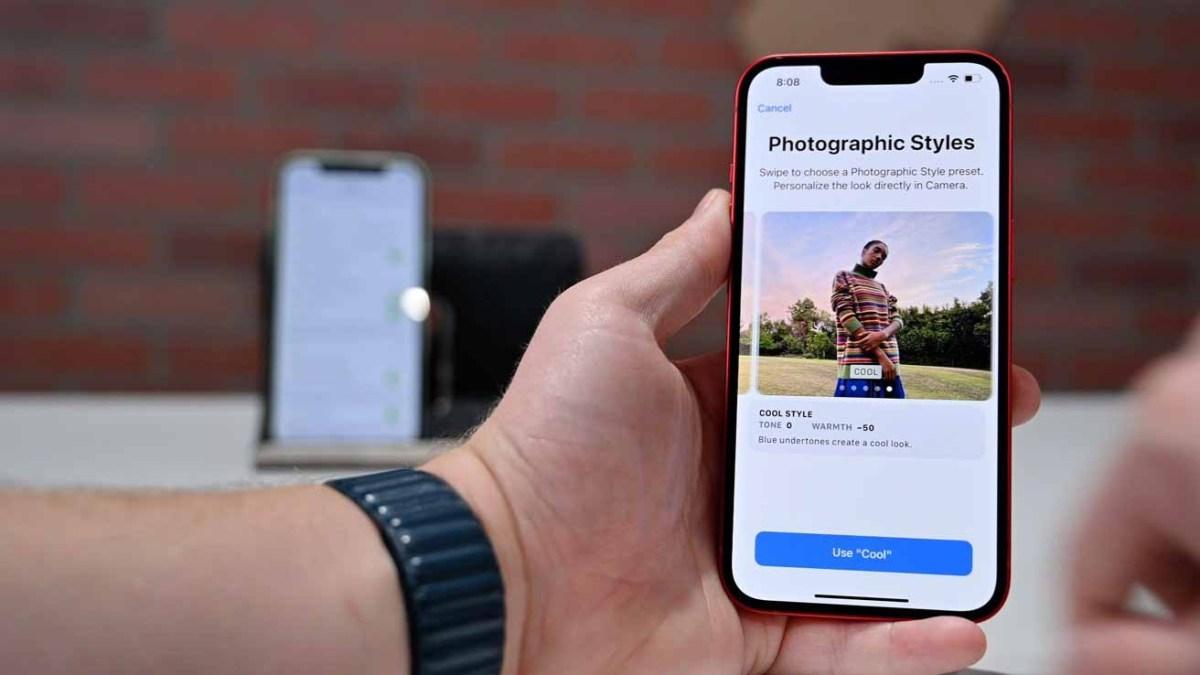 Фотографические стили на iPhone 13