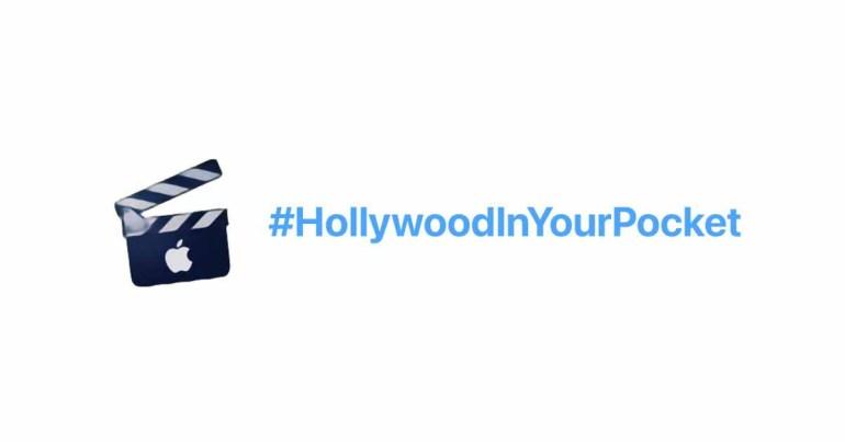 Apple продвигает возможности видео на iPhone 13 с новым хеш-флагом #HollywoodInYourPocket в Twitter