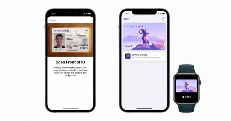 Apple сообщает о первых штатах США, которые работают над внедрением цифровых идентификаторов Apple Wallet ID