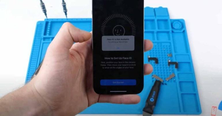 Face ID перестает работать, если заменить экран iPhone 13 на сторонний ремонт [Video]