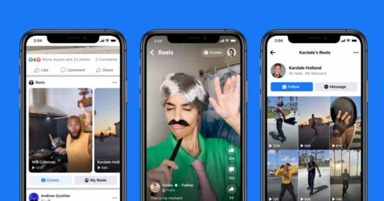 Facebook запускает функцию Reels TikTok-copycat в США