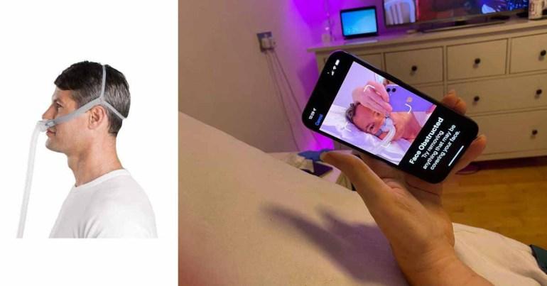 iPhone 13 Face ID не работает с масками CPAP;  работал ранее