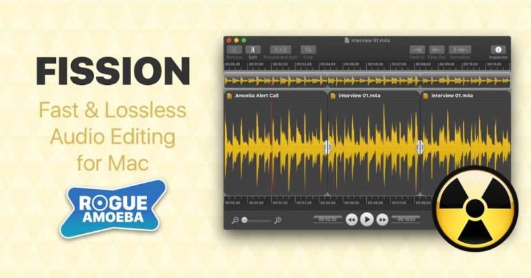 Rogue Amoeba извлекает редактор Fission из Mac App Store из-за отсутствия улучшений Apple