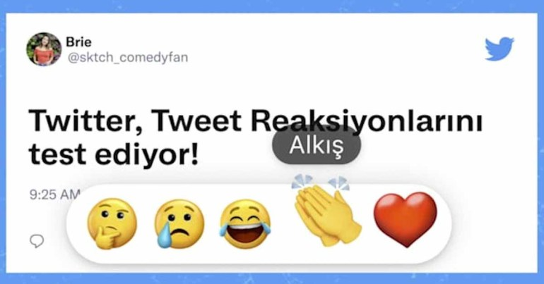 Twitter для iOS начинает тестирование новых вариантов реакции на твиты