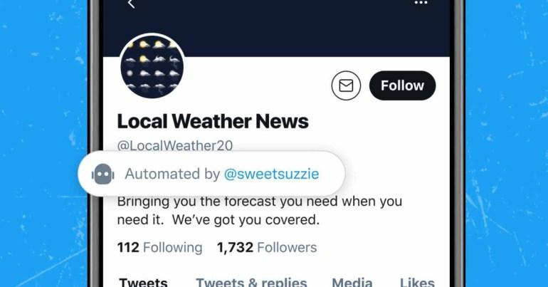 Twitter тестирует новые ярлыки для определения учетных записей «хороших ботов»
