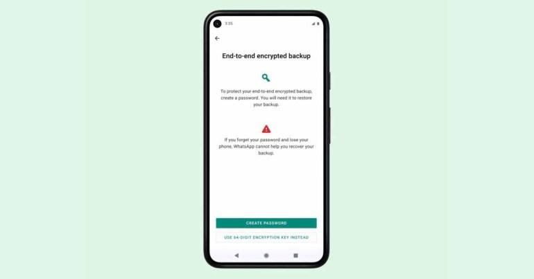 WhatsApp запускает сквозное зашифрованное облачное резервное копирование для iOS и Android