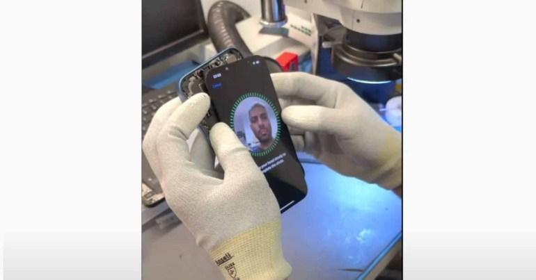 Видео показывает, что можно заменить экран iPhone 13 и не потерять Face ID