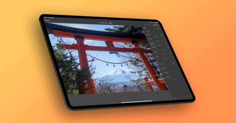 Adobe Photoshop для iPad добавляет поддержку Camera RAW в новом обновлении