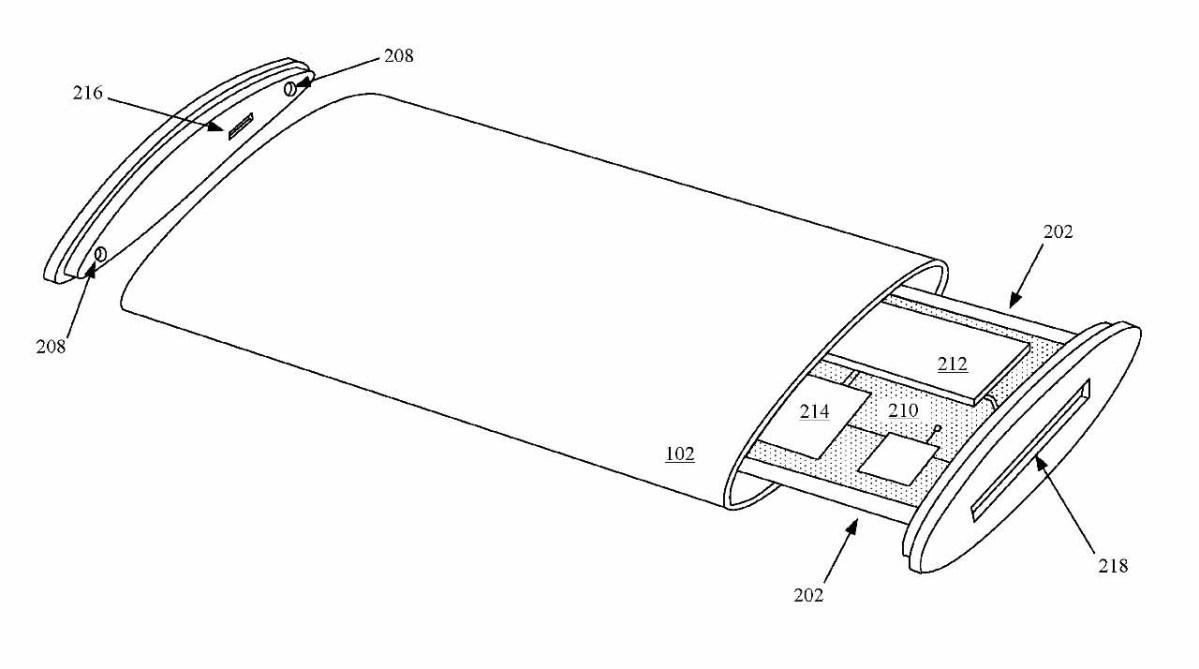 В патенте также описаны способы изготовления кругового дисплея.