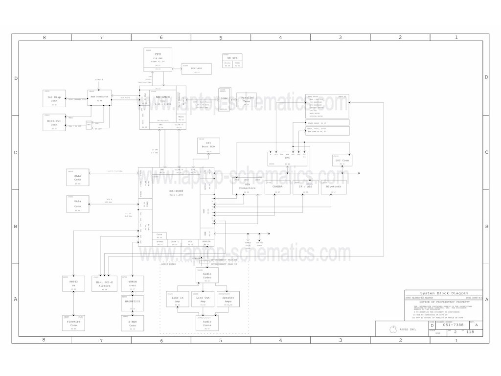 Apple Imac A Schematic