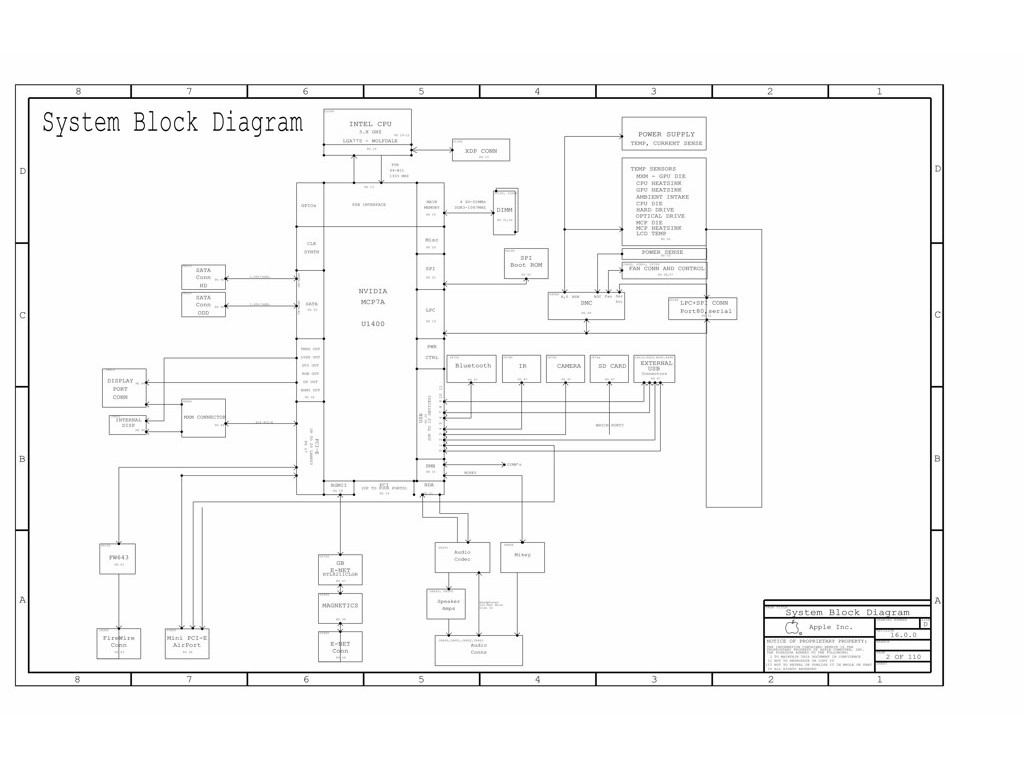 Apple Imac 27 A Late 820 Schematic Apple