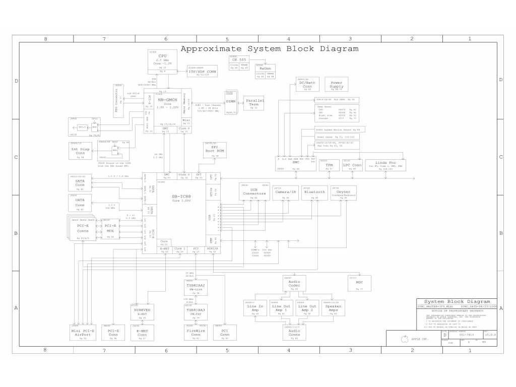 Apple Macbook Pro A Schematic 820 Schem Taupo