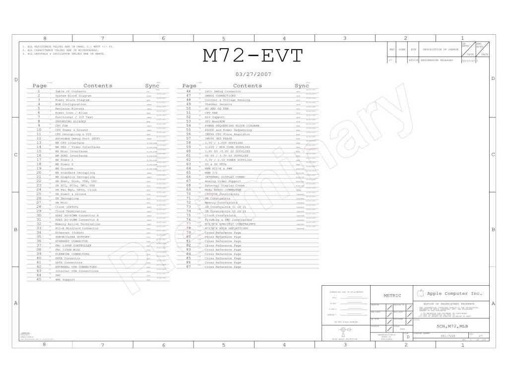 Apple Imac Aluminium 20 A Logic Board Schematic 820